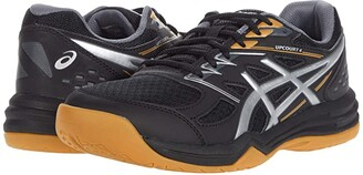 Asics Upcourt 4 (Black/Pure Silver) Men's Shoes