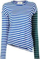 Ports 1961 contrast stripe jumper