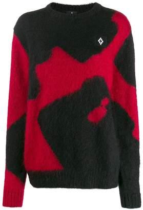 Marcelo Burlon County of Milan oversized colour block sweater