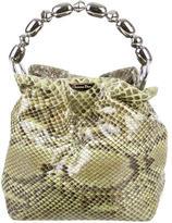 Christian Dior Python Handle Bag