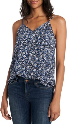 1 STATE Chateau Floral Print Camisole