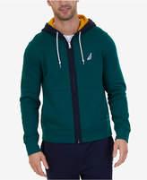 Nautica Men's Colorblockeded Zip Hoodie, Created for Macy's