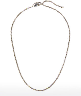 """Konstantino Sterling Silver Adjustable Chain Necklace, 18-20""""L"""