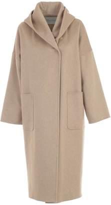 Max Mara Coat Marilyn Double Breasted W/hood And Belt