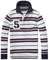 Tommy Hilfiger Final Sale-Th Kids Stripe Rugby