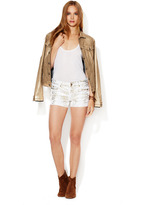 7 For All Mankind Cut-Off Short