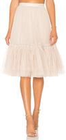 Needle & Thread Lace Tulle Skirt