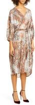 Roseanna Shades Atelier Animal Jacquard Midi Dress