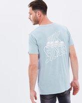 Quiksilver Mens Bones Crew T Shirt
