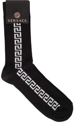 Versace GREEK MOTIF COTTON SOCKS