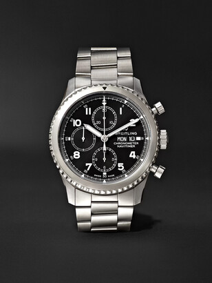 Breitling Navitimer 8 Automatic Chronograph 43mm Steel Watch, Ref. No. A13314101b1a1