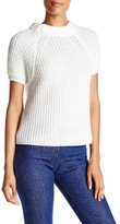 Cotton Emporium Cropped Short Sleeve Sweater