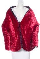 Etro Velvet Asymmetrical Jacket