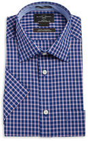 Black Brown 1826 Checked Button Front Shirt