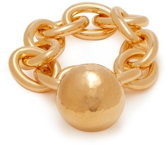 Bottega Veneta Gold-plated Chain-link Bracelet - Gold