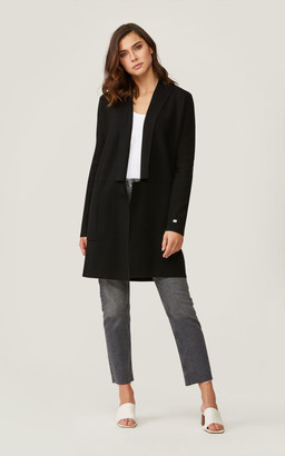 Soia & Kyo BENELA straight-fit mid-length coatigan