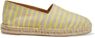 Iris & Ink Tansy Striped Woven Espadrilles
