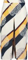 Raoul Tribeca printed crepe culottes