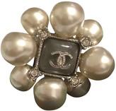 Chanel Baroque Silver Metal Rings