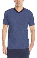 Izod Men's Spaced Dye V-Neck T-Shirt