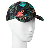 Mossimo Women's Tropical Print Baseball Hat Green