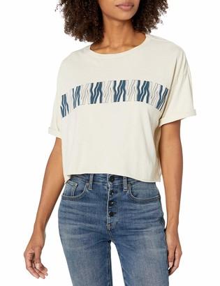 RVCA Women's VA Flow Crop T-Shirt