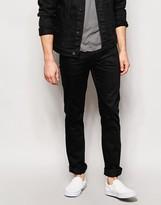 Nudie Jeans Slim Jim Slim Fit Dry Black