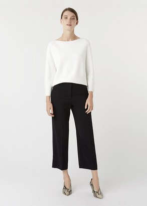 Hobbs Petite Lula trousers With Stretch