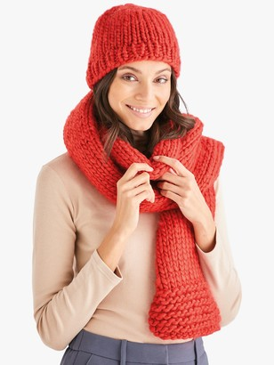 Sirdar Adventure Hat and Scarf Knitting Pattern