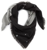 BP Women's Star And Grid Reversible Triangle Scarf
