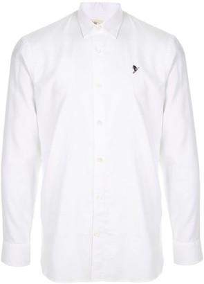 Kent & Curwen Embroidered Logo Dress Shirt