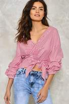 Nasty Gal nastygal Extra Ordinary Striped Shirt