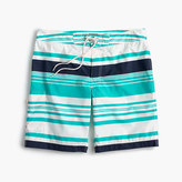 "J.Crew 9"" Board Short In Variegated Stripe"