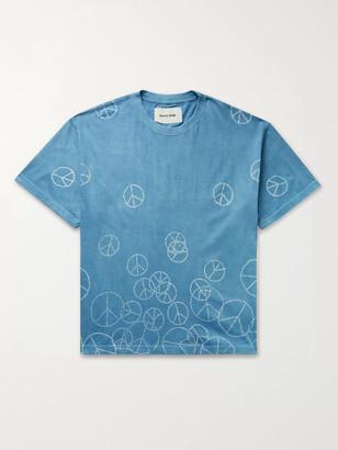 Story mfg. Grateful Printed Organic Cotton-Jersey T-Shirt