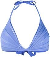 La Perla sequin-embellished triangle bikini top