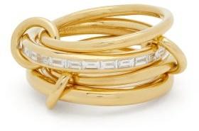 Spinelli Kilcollin Metius Diamond & 18kt Gold Ring - Yellow Gold