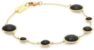 Ippolita Lollipop 18K Yellow Gold & Onyx Station Link Bracelet