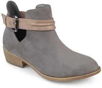Journee Collection Mavrik Ankle Strap Bootie
