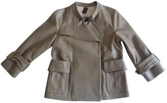 Thomas Wylde Beige Leather Leather Jacket for Women