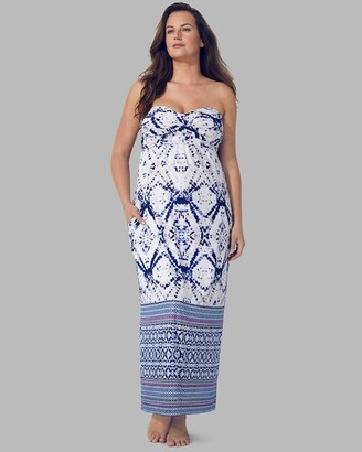 Soma Intimates Ultimate Maxi Dress With Built-In Bra