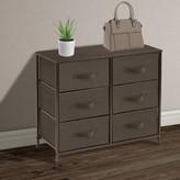 Mandwe 6 Drawer Double Dresser Ebern Designs Color: Brown