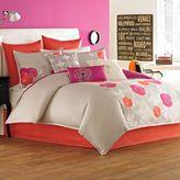 Bed Bath & Beyond Blissliving® Malia Duvet Cover, 100% Cotton Sateen, 250 Thread Count