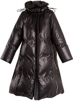 Maison Margiela Oversized padded nylon coat
