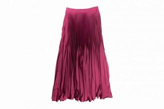 Tara Jarmon Burgundy Skirt for Women