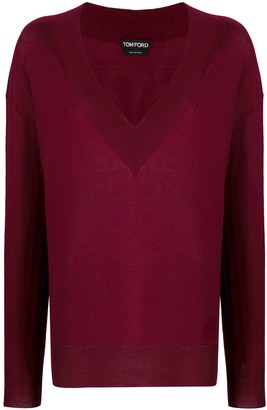 Tom Ford V-neck knitted sweater