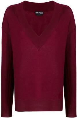 Tom Ford V-neck knitted sweater