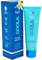 Coola Classic Face Sunscreen Moisturizer SPF 30 - Unscented Sunscreen 50.15 ml