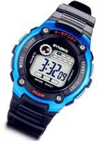 Lancardo Digital-analog Boys Girls Outdoor Sport Digital Watch with Gift Bag (Blue)