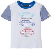 Andy & Evan Taxi Tee (Baby) - White 18-24 Months