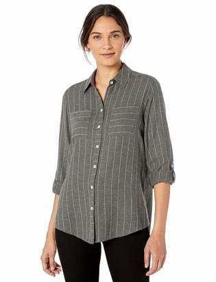 Foxcroft Women's Zoey Brushed Herringbone Shirt